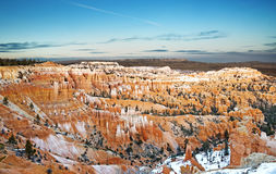 Rock formations in the Bryce Canyon Royalty Free Stock Photos