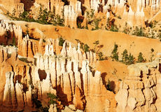 Rock formations in Bryce Canyon Stock Photography
