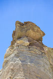 Rock formations in Calingasta  Stock Images