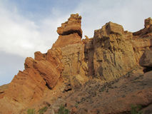Rock formations in Canyon Charyn (Sharyn) National Park Stock Photo