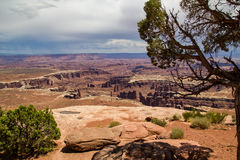 Rock Formations at Canyonlands Stock Photography