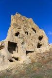 Rock formations at Cappadocia, Anatolia, Turkey Royalty Free Stock Image