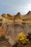 Rock formations of Cappadocia Stock Photos