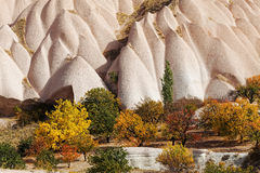 Rock formations of Cappadocia Royalty Free Stock Image