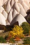 Rock formations of Cappadocia Royalty Free Stock Photo