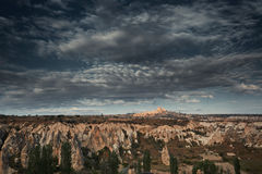 Rock formations of Cappadocia Stock Images