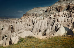 Rock formations of Cappadocia Royalty Free Stock Photography