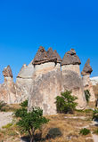 Rock formations in Cappadocia Turkey Stock Photo
