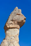 Rock formations in Cappadocia Turkey Royalty Free Stock Photo