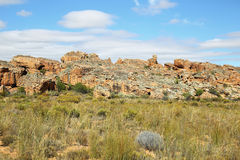 Rock formations  in Cederberg Stock Image