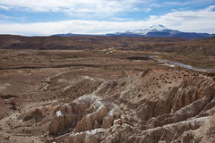 Rock Formations on the Chilean Altiplano Stock Images