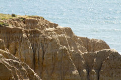 Rock Formations on Coast Royalty Free Stock Image