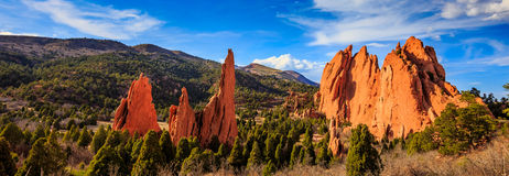 Rock Formations in Colorado Stock Photo