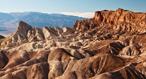 Rock formations at death valley, ca, usa Royalty Free Stock Images