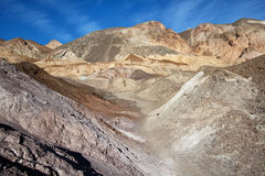 Rock formations in death valley national park Royalty Free Stock Photos