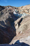 Rock formations in death valley national park Stock Photography