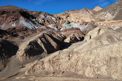 Rock formations in death valley national park Stock Photo