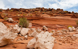 Rock Formations of the Desert Southwest Stock Photography
