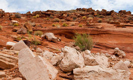 Rock Formations of the Desert Southwest Stock Images