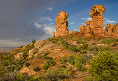 Rock Formations in Garden of Eden Royalty Free Stock Images