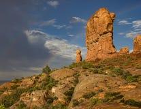 Rock Formations in Garden of Eden Stock Photo
