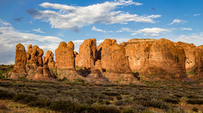 Rock Formations in Garden of Eden Royalty Free Stock Photography