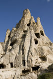 Rock formations in Goreme - Cappadocia Royalty Free Stock Image