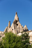 Rock formations in Goreme National Park. Cappadocia, Royalty Free Stock Photos