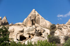 Rock formations in Goreme National Park. Cappadocia, Stock Photo
