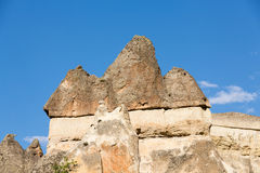 Rock formations in Goreme National Park. Cappadocia, Stock Photography