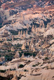 Rock formations in Goreme National Park. Cappadocia, Royalty Free Stock Photo