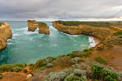 Rock formations, Great Ocean Road Stock Image