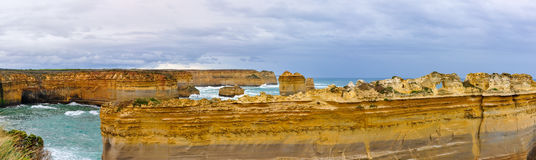Rock formations on the Great Ocean Road, Australia Royalty Free Stock Images