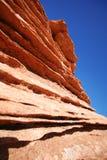 Rock formations at Horseshoe Bend. Arizona, USA Royalty Free Stock Photography