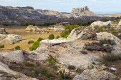 Rock formations, Isalo National Park, Madagascar Royalty Free Stock Photo