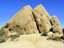 Rock formations at Joshua Tree National Park Stock Photos