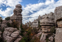 Rock formations Stock Photo