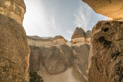 Rock formations in Monks valley Royalty Free Stock Image