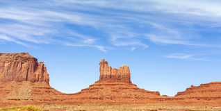 Rock formations in Monument Valley, Royalty Free Stock Image
