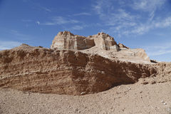 Rock formations of the Moon Valley Royalty Free Stock Images