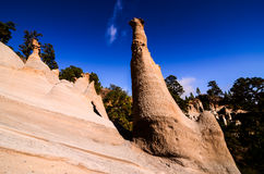 Rock Formations Paisaje Lunar Royalty Free Stock Image