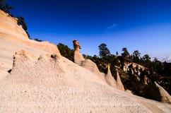 Rock Formations Paisaje Lunar Stock Photo