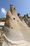Rock Formations Paisaje Lunar, Tenerife Stock Images