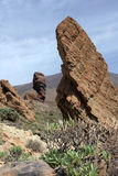 Rock formations at Pico del Teide Royalty Free Stock Images