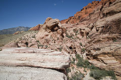 Red Rock Canyon Formations. Rock formations in Red Rock Canyon, NV Stock Photos