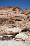 Red Rock Canyon, Nevada. Rock formations in Red Rock Canyon, NV Royalty Free Stock Photography