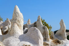 Rock formations. In Rhodopes mountains, Bulgaria Stock Images