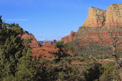 Rock Formations Sedona Royalty Free Stock Photography
