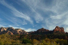 Rock formations in Sedona Stock Photography