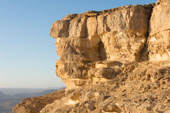 Rock formations in  the Southern Israel Negev Desert Stock Photos